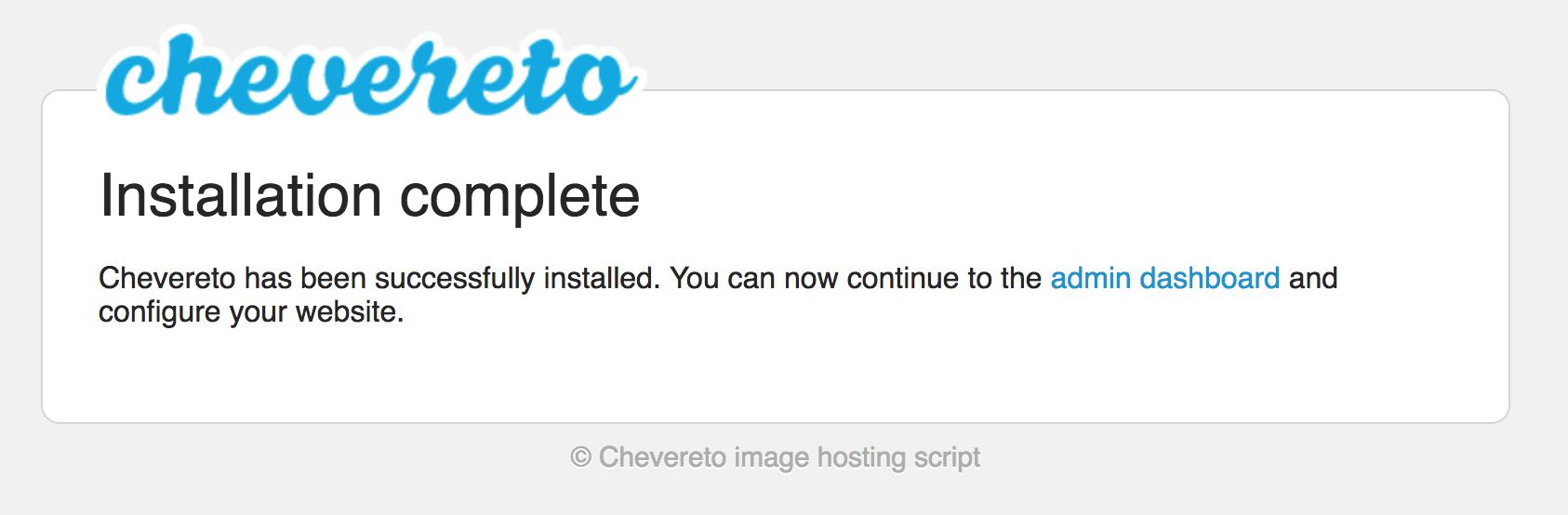 《Chevereto-搭建私人图片外链库》