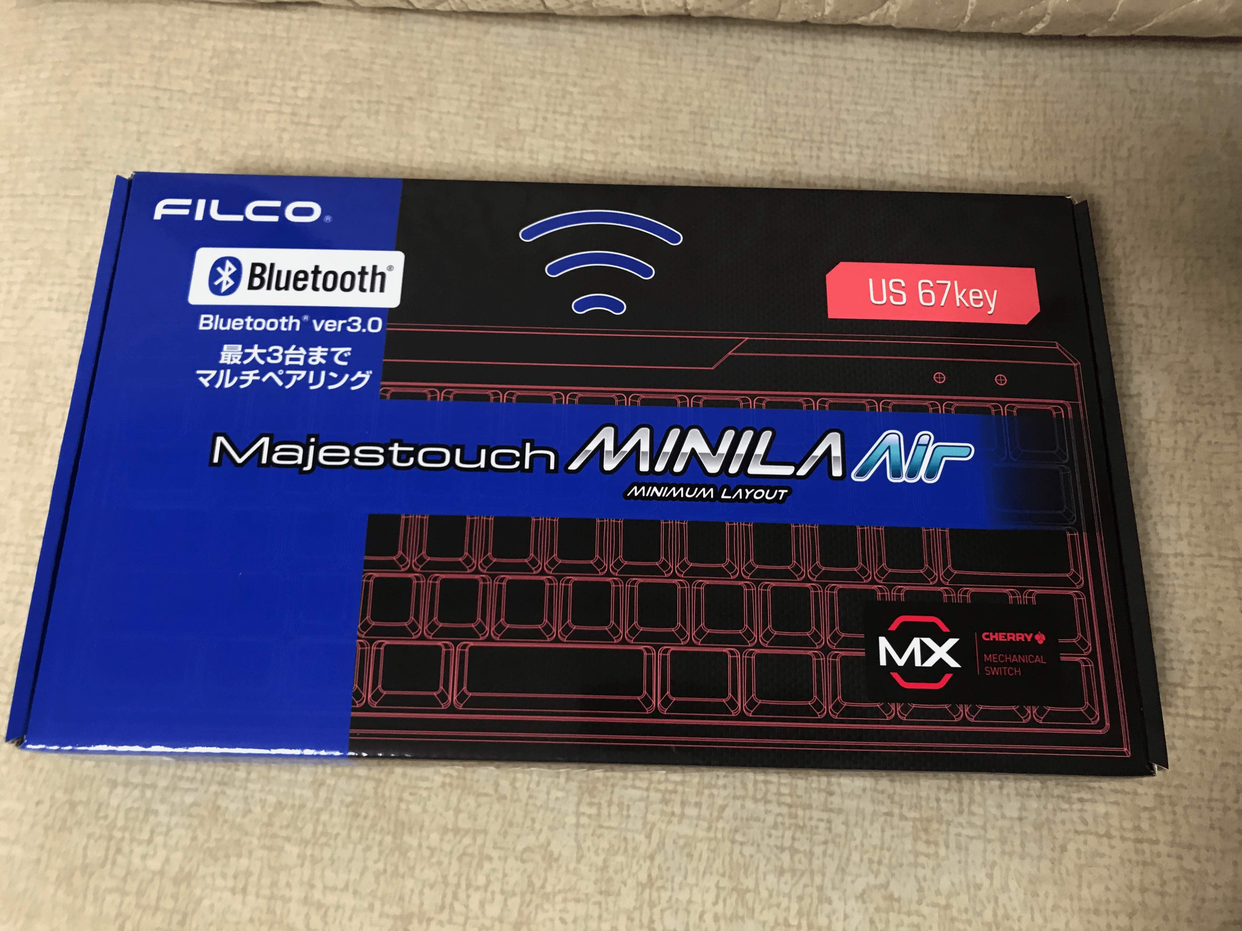 《新年礼物:Filco minila air 红轴》
