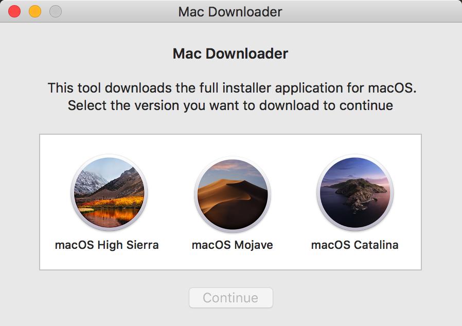 《macOS完整安装包下载方法》